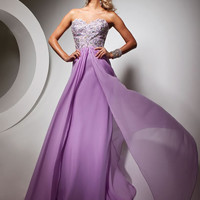 Bella Boutique :: *Dresses :: Prom Dresses :: Purple Prom Dresses :: Tony Bowls Le Gala 113528 Dress