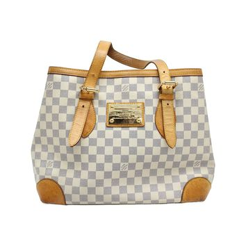 Louis Vuitton Damier Azur Canvas Hampstead PM Shoulder Bag