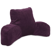 Villa Aubergine Reading Pillow