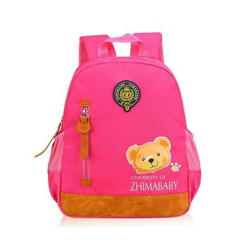 2017 new Large capacity fashionable Cute cartoon style backpack for students,Wear resistance, reduce load, ventilate, unisex use