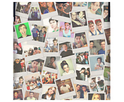 Youtubers Polaroids