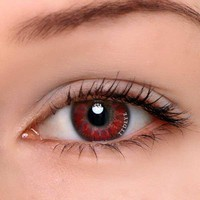 TTDeye Mystery Red Colored Contact Lenses