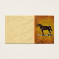 Brown Horse Business Card