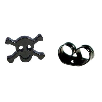 Hollow-out Skull Stud Earrings