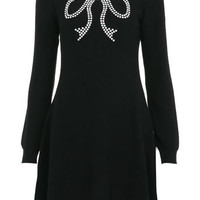 Studded Bow Skater Dress - View All  - Dress Shop
