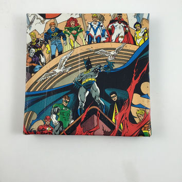 Comic Book Wall Art - DC Comic Book Picture - One of a Kind