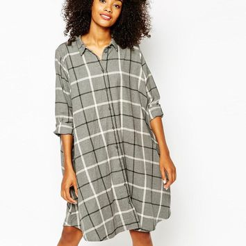 Monki | Monki Check Dress at ASOS