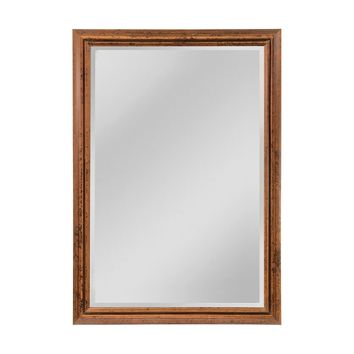 Groove Frame Beveled Wall Mirror - Extra Large