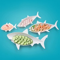FISH FOOD Nesting Dishes Set