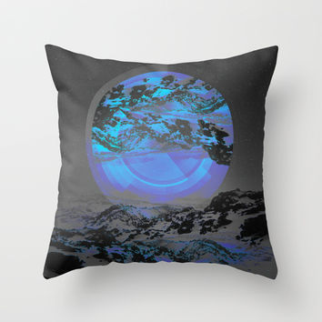 Neither Up Nor Down Throw Pillow by Soaring Anchor Designs