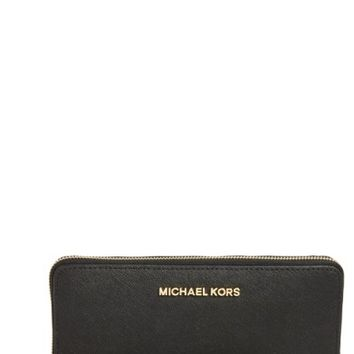 MICHAEL Michael Kors 'Jet Set' Leather Travel Wallet | Nordstrom