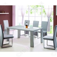 Exclussive UK - Exclusive Furniture Enzo Grey Dining Set with 4 Chairs