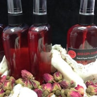 Rose Water Hydrosol Organic-Skin Cleanser-Toner-Body Mist-Linen Spray-4 OZ Sprayer