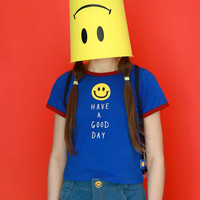 """Summer """"Have a good day"""" T-shirts [11089184847]"""