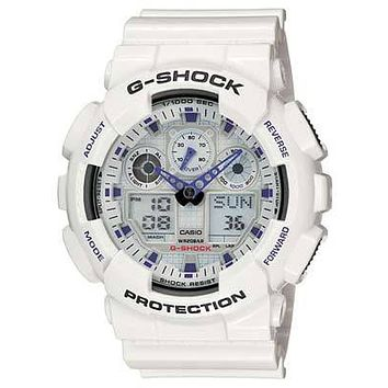 Casio XL G-Shock - Mountain Top White - Magnetic Resistant - World Time - 200m