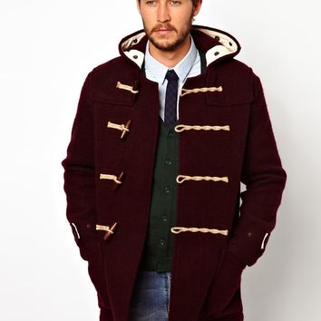 Gloverall Duffle Coat in Boiled Wool