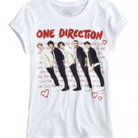 One Direction Slanted Graphic Tee