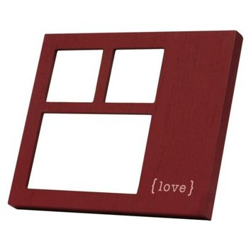 Recordable Multi-Image Frame Red - Love