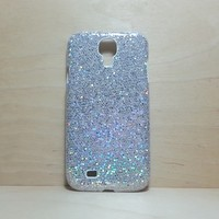 Glitter Case for Samsung Galaxy S4 Silver