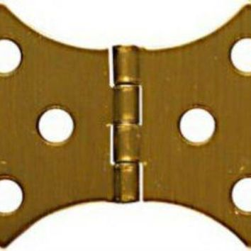 """National Hardware® N211-854 Decorative Hinges, 1-11/16"""" x 3-1/16"""", Antique Brass, 2-Pack"""