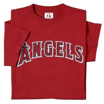 Los Angeles Angels of Anaheim (YOUTH SMALL) 100% Cotton Crewneck MLB Officially Licens