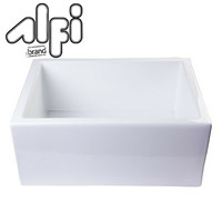 "ALFI brand AB2418SB 23 5/8"" x 18"" x 10"" Farmhouse Sink"