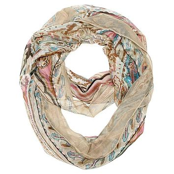 Dream a Little Dream Infinity Scarf - Camel