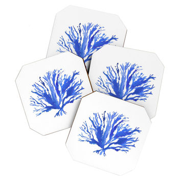 Laura Trevey Sea Coral Coaster Set