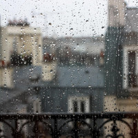 Paris Photography Paris in the rain Rainy Day by rebeccaplotnick