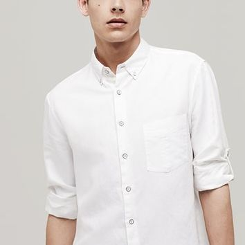 Rag & Bone - Ventura Shirt, White