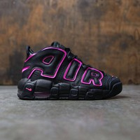 Nike Air More Uptempo Black/Pink 415082-003 Size 36-40