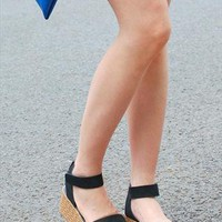 Ankle Strap Wedges Women Sandals from dreamgirl