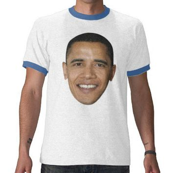 Barack Obama FACE Tee Shirts from Zazzle.com