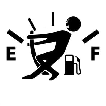 Funny Vinyl Gas is Killing Me Decal