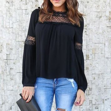 2018 Celmia Elegant Women Spring Lace Patchwork Long Sleeve Hollow Out Solid Ruffles OL Work Shirt Chiffon Blouse Top Plus Size