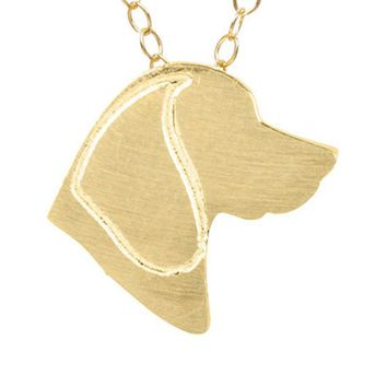 Beagle Discontinued Necklace Choker Animal Dog Pet Charm Pendant Long Chain Necklaces Jewelry Memorial Gifts For Women Men
