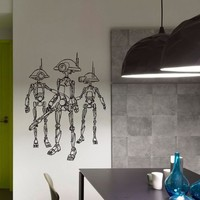 Star Wars Droid Clone Trooper Wall Decals Vinyl Stickers Home Decor Design Interior Art Mural Boys Room Kids Bedroom Dorm Z776