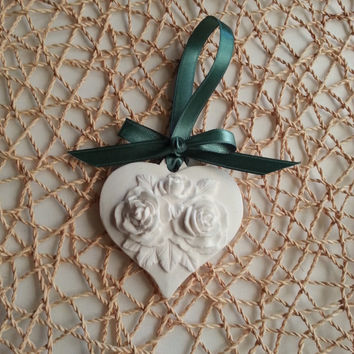 Heart Scented Stone , Wedding favor , Wedding gift , Party favor , Home decor , Hanging Wall decor