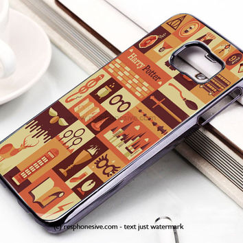 Harry Potter Collage Art Samsung Galaxy S6 and S6 Edge Case