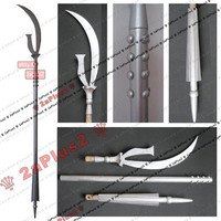 Sailor Moon Saturn Cosplay Prop Weapon Wand Staff Scythe