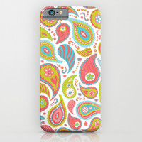 Power Paisley iPhone & iPod Case by Heather Dutton