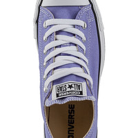 Converse Women's Chuck Taylor All-Star Sneaker Lavender Fabric - Jildor Shoes, Since 1949