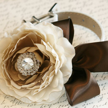 Country rustic wedding, Pet Wedding Accessory, Neutral color, 2014 Wedding Color, Brown