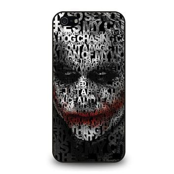 JOKER LEDGER FACE iPhone 5 / 5S / SE Case