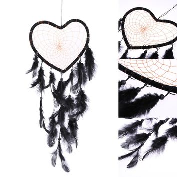 Dream Catcher With Beads Feather Car Wall Hanging Decoration Accessories Dreamcatcher Handmade Gifts
