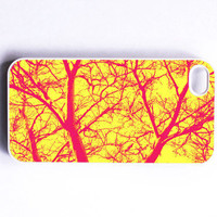 Iphone Case Neon Woods Tree Branches by SSCphotographycases