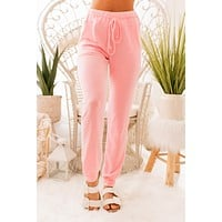 Nights With You Joggers (Pink)