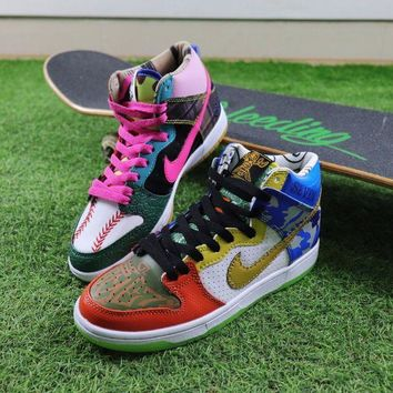 PEAP Nike SB Dunk High What The Doernbecher Sneaker Skateboard Shoes