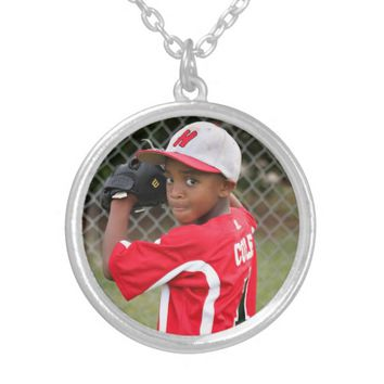 Sports Action Photo or Picture Day Custom Necklace