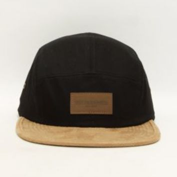 OBEY, Decent 5 Panel Hat - Black - Hats - MOOSE Limited